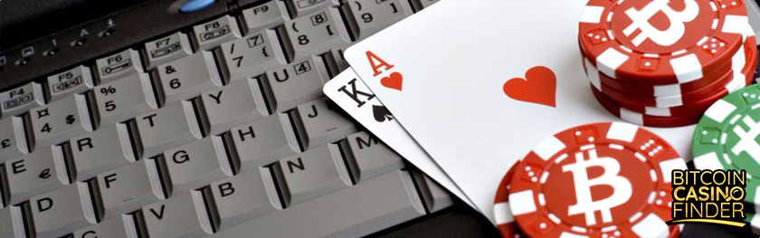 Computer Keyboard Playing Cards and Poker Chips