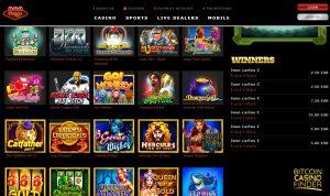123 Vegas Win screenshot - Bitcoin Casino Finder