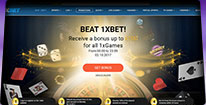 1XBET screenshot - Bitcoin Casino Finder