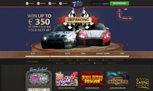 7BitCasino Games Page Screenshot