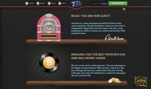 7Bit Casino screenshot - Bitcoin Casino Finder