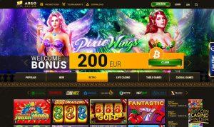 Argo Casino Retro Games Screenshot