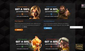 Betchan Bonus Page Screenshot