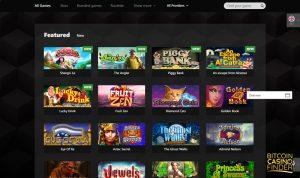 Betchan Games Page Screenshot