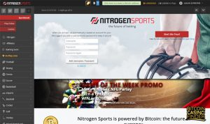 NitrogenSports Casino screenshot - Bitcoin Casino Finder