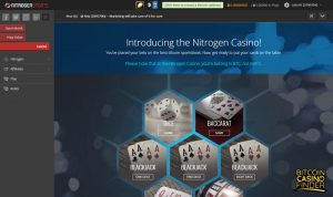NitrogenSports Casino screenshot - Bitcoin Casino Finder