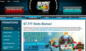 Sloto Cash screenshot - Bitcoin Casino Finder