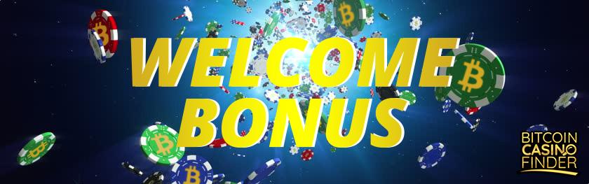 Welcome Bonus Banner