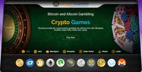 Crypto-Games.net Homepage Screenshot