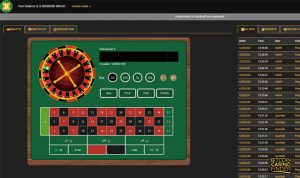 Crypto-Games.net Roulette Screenshot