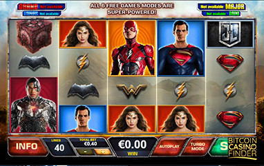 Playtech Develops New Slot Based On DC's Justice League Movie