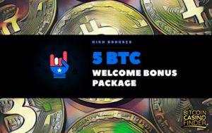 BitcoinCasino.us Leads Off With 5 BTC Welcome Bonus