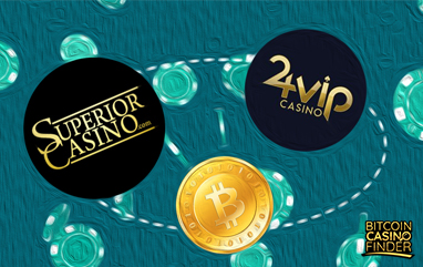 Superior And 24VIP Casinos Now Accept Bitcoin