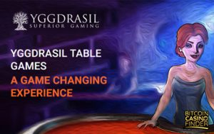 Yggdrasil Creates Their First Table Games With 3D Technology