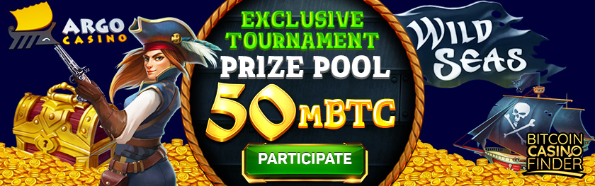 Argo Casino Exclusive Tournament Prize Pool
