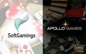Apollo Games And SoftGamings Seal New Partnership