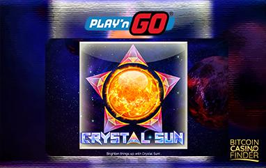 Play 'N Go Releases Cosmic-Themed Slot Crystal Sun
