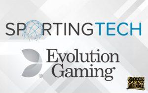 Sportingtech Expands Portfolio With Evolution Gaming