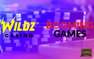 Booming Games Slot Portfolio Goes Live On Wildz Casino