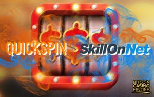 Quickspin Launches Slot Portfolio In SkillOnNet's Casinos