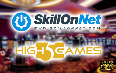 SkillOnNet, High 5 Games Share Casino Content And Territories