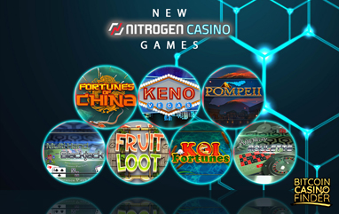 Nitrogen Sports Rolls Out New Bitcoin Casino Games