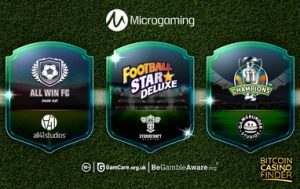 Microgaming Introduces New Football-Themed Slot Collection