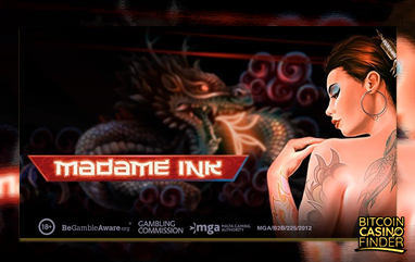 Play'n Go Introduces Madame Ink Slot To Traditional And Bitcoin Casinos