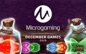 Microgaming Releases New Poker, Slot Games For December